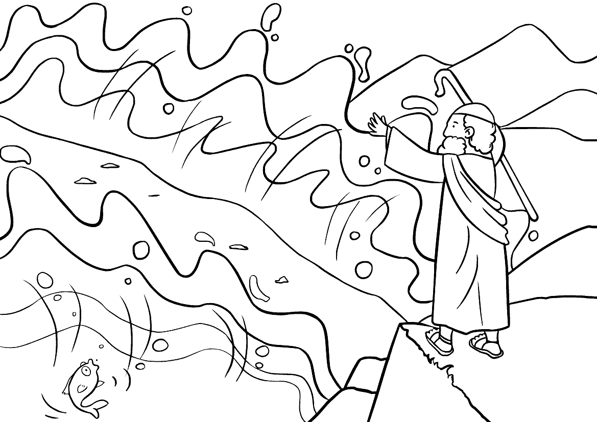 Моисей и разделение моря