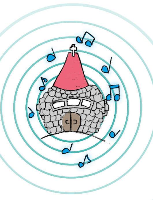 Картинка 3: история – Глухой певец. Церковь поёт ещё громче.