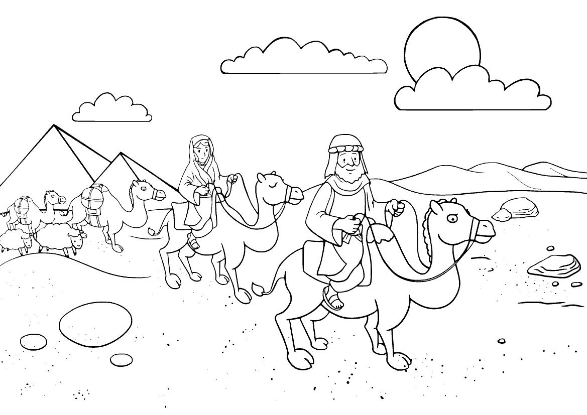 Авраам в Египте