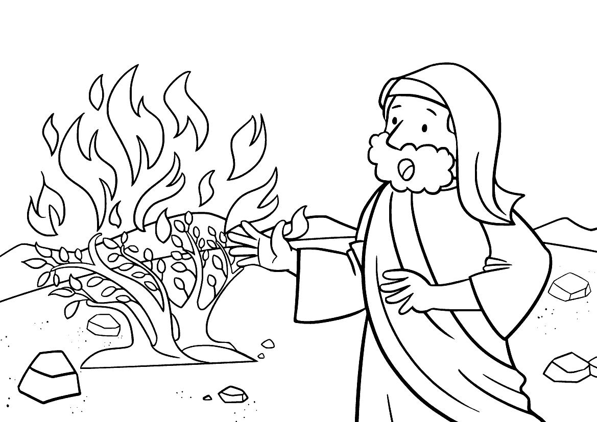 Моисей и горящий куст